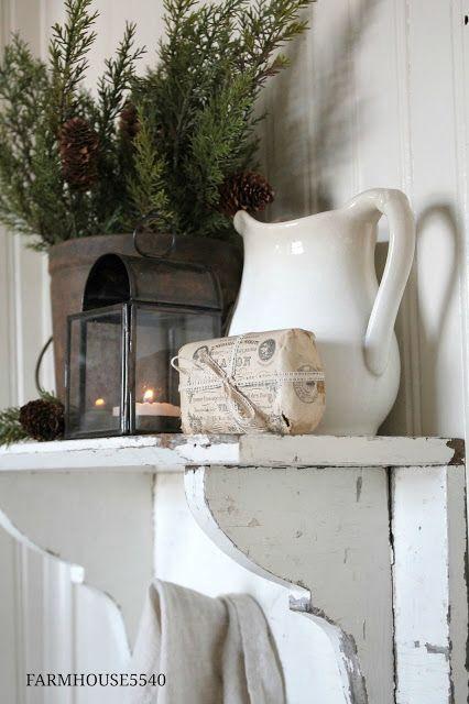 Farmhouse winter decor Farmhouse5540
