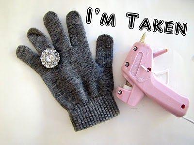 DIY Glamour Gloves {Tutorial} - craft - Little Miss Momma