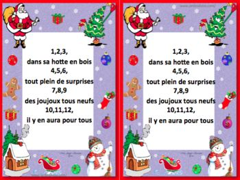 Comptines de Noël-cycle 1