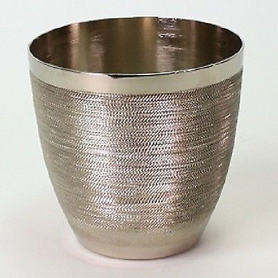 Übertopf Blumentopf silber Vase Umtopf Metall Pflanztopf Muster Topf  Blumen Neu in Möbel & Wohnen, Dekoration, Blumentöpfe & Vasen | eBay