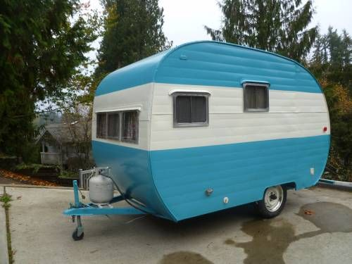 1954 Terco Canned Ham I Love Old Campers Pinterest