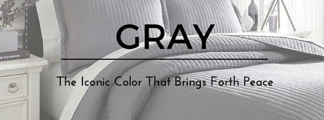Gray you say? Why would you want your home décor to look as dull as a rock? On the contrary! Gray seems to be the number one choice in paint color. It is very neutral, versatile, and brightens the home by reflecting natural lighting. Visit our blog to find out more.