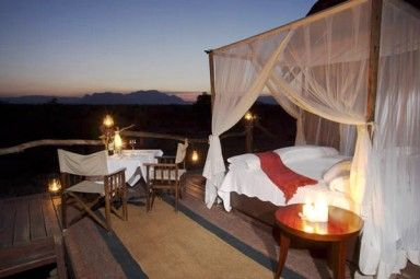 The perfect way to enjoy South Africa's beauty after a day filled with sightseeing
