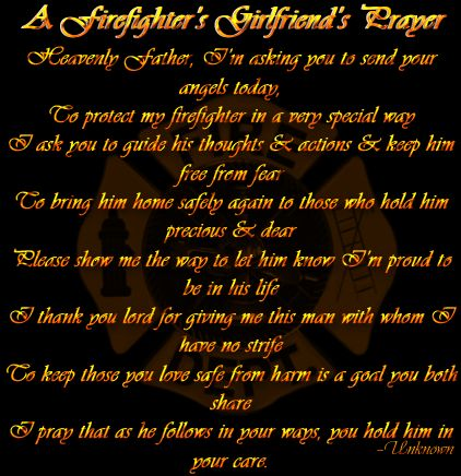 firefighter girlfriend   My Life as a EMT Girlfriend! : Firefighter's Girlfriend Prayer!