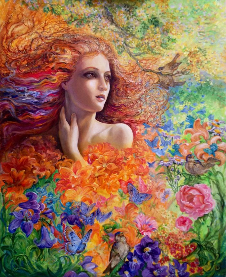 """Summer Breeze 3"" par Josephine Wall"