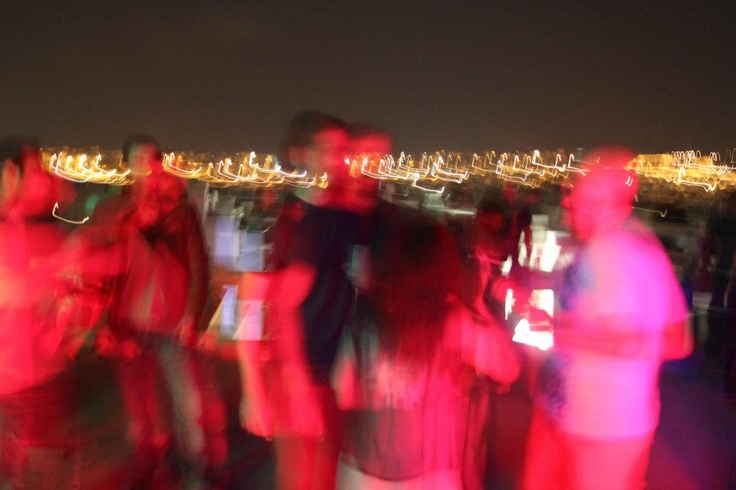 Rooftop summer party