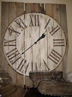 pallet to clock