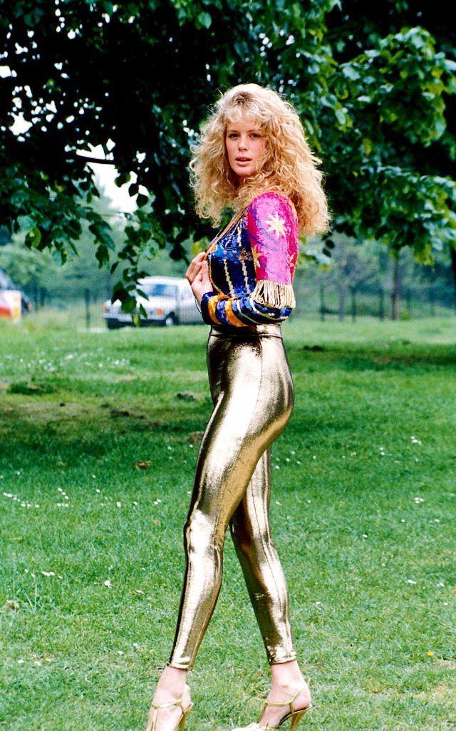 80er Style Frauen