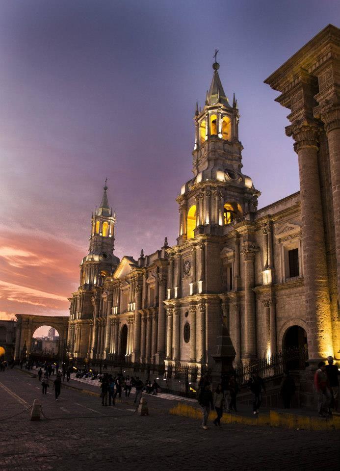 Catedral de Arequipa - Peru