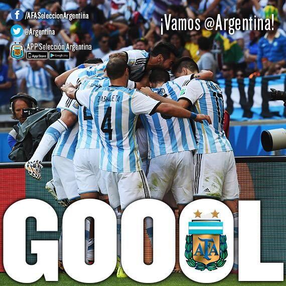 """Nos inspira la """"Celeste y Blanca """" Mundial 2014, Vamos argentina!!!!!"""
