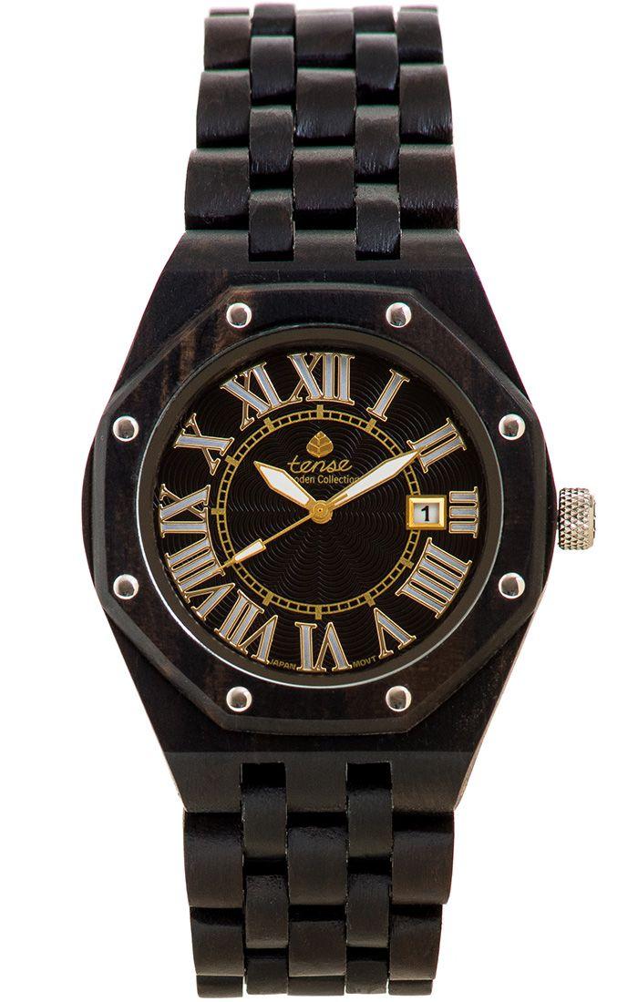 Tense Men's Oregon Watch in Dark Sandalwood - $229 at tensewatch.com