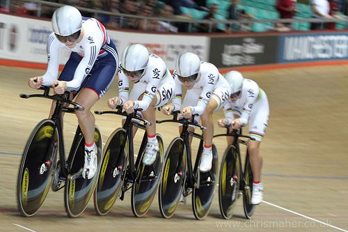 UCI Track World Cup | Manchester 2013 - Team GB - Women's Team Pursuit #ProCycling