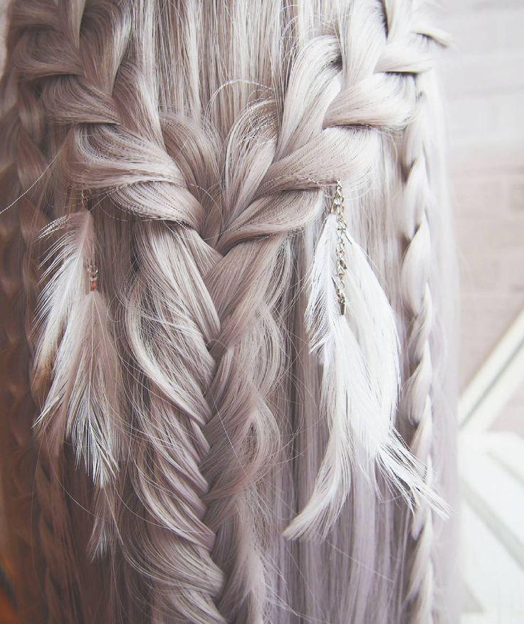 Jak myślicie jakie będzie kolejne fryzurowe wyzwanie?  #fryzury #krokpokroku #blogowlosach #fryzuromania #wlosomaniaczka #dlugiewlosy #warkocze #klosy #hairart #lovehair #love #boho #braids #hairstyles #hair #fashion #greyhair #bohohair #longhair #hairblog #hairblogger #braid #fishtail #braidideas #hairstylist