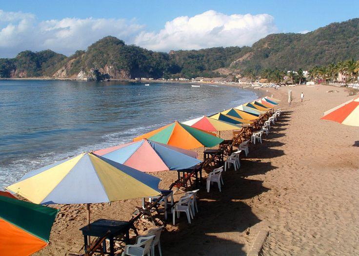 It happens within you! Jalisco #Mexico #Travel #Tourism  Playa Melaque (San Patricio)