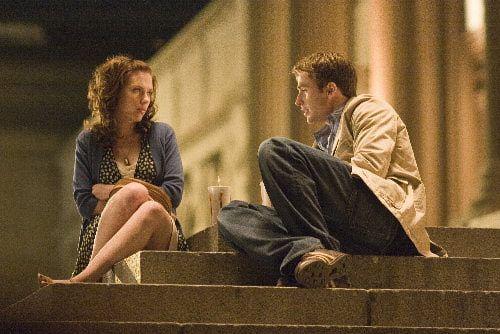 Scarlett Johansson and Chris Evans, The Nanny Diaries