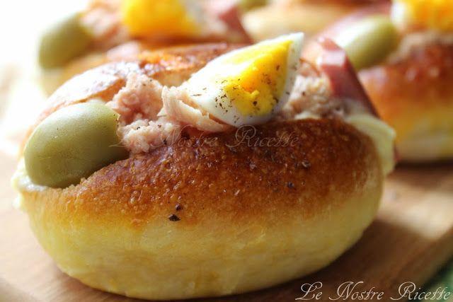 Le nostre Ricette: Maritozzi salati farciti