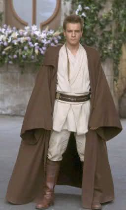 How to make a Jedi Robe -- With pattern.