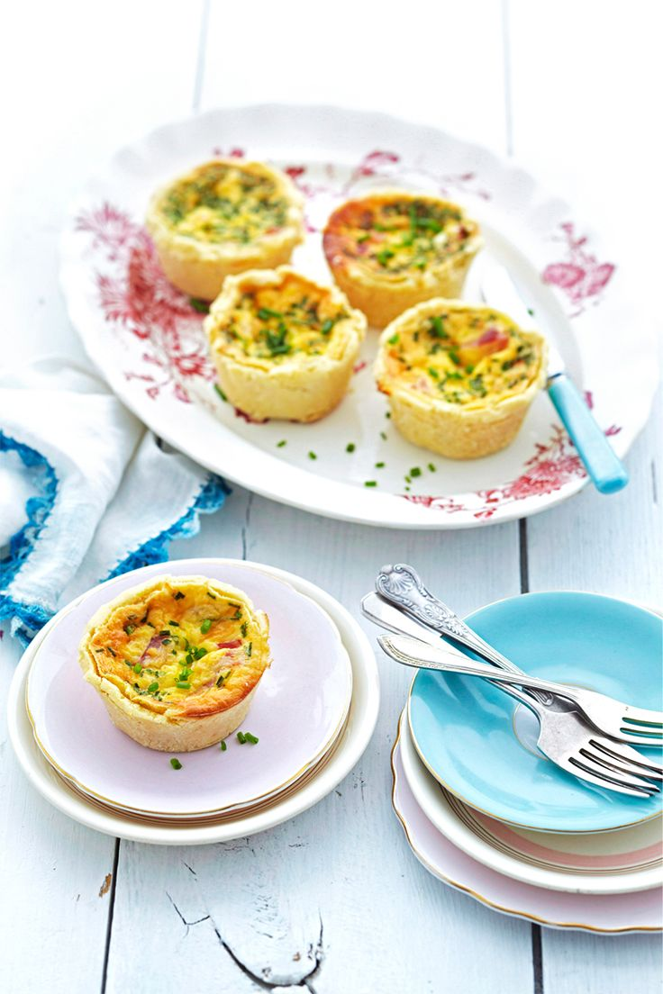 These gluten-free quiches that everyone can enjoy are the perfect addition to your finger-food platters.
