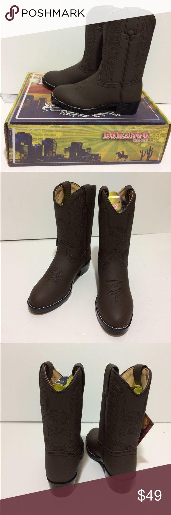 Durango Head West Toddler Boys Cowboy 🤠 Boots 11D Durango Head West Toddler Boys Cowboy 🤠 Boots 11D Durango Shoes Boots
