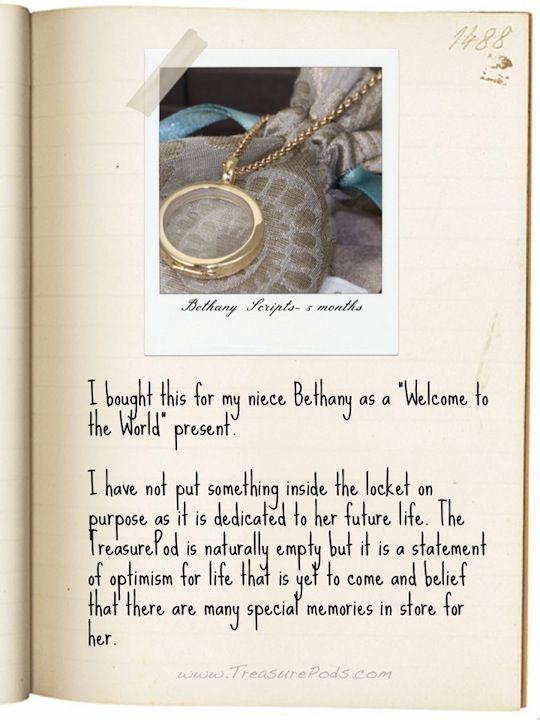My #LocketStory - Bethany Scripts, 5 months
