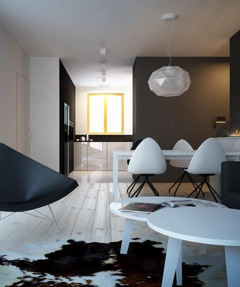 Living room interior design Katowice - archi group