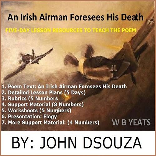 An irish airman forsees his death essay! Creative writing picture generator