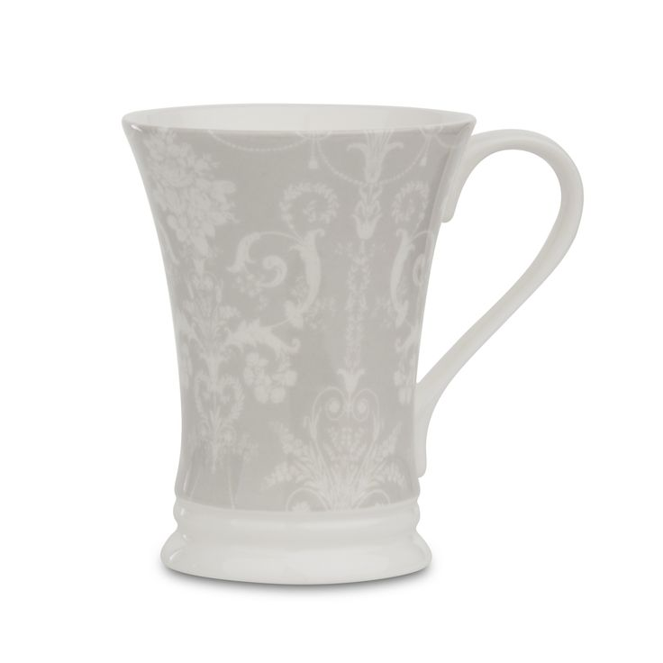 Josette Dove Grey China Regent Mug at Laura Ashley