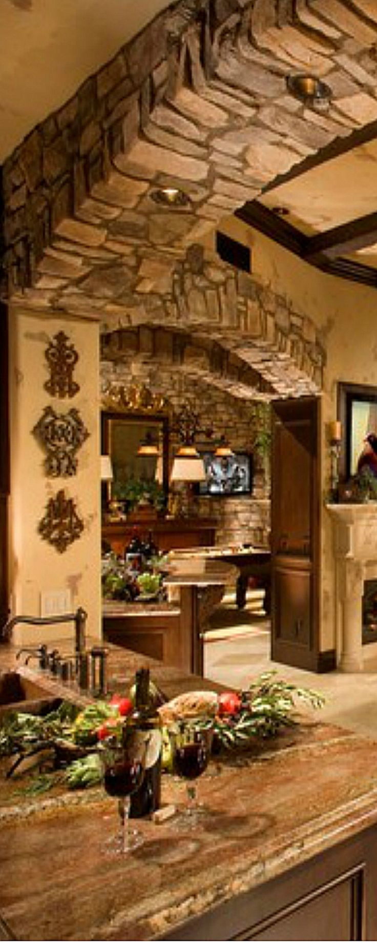 Best 25+ Tuscan kitchens ideas on Pinterest | Tuscan ...