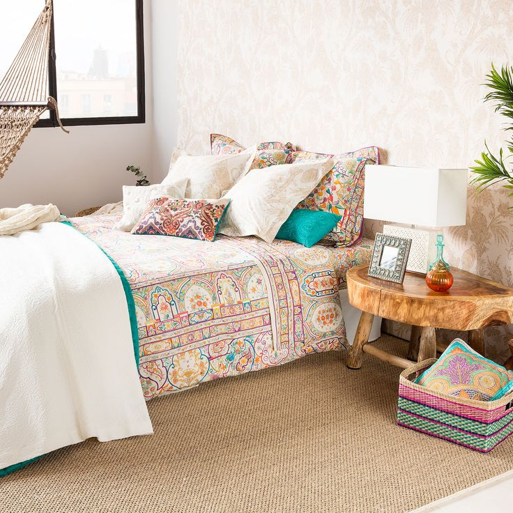 エスニックプリントシーツ&カバー - ベッドシーツ&カバー - ベッドルーム | Zara Home 日本/Japan