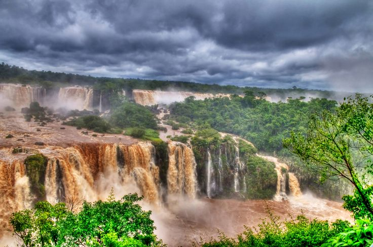 Iguazu Falls, Argentina - For the cost of travel in Argentina visit http://rtwme.com/cost-argentina/