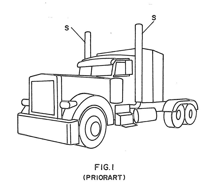 image result for peterbilt semi truck coloring pages