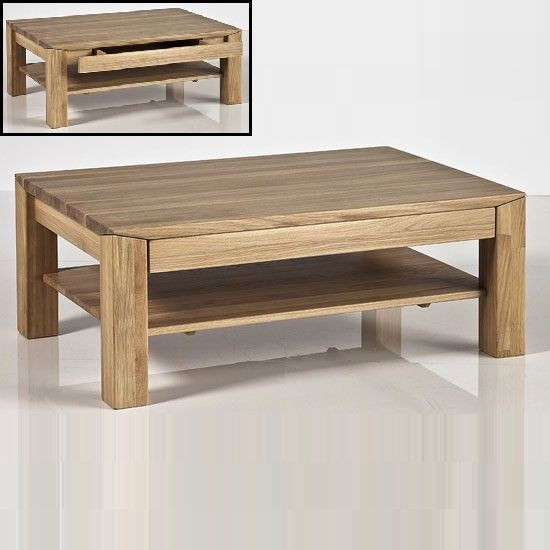 Messina Coffee Table In Bianco Oak With Undershelf And Drawer 24759 Fif Contemporary Wooden Tables Off From Furniture Fashion All