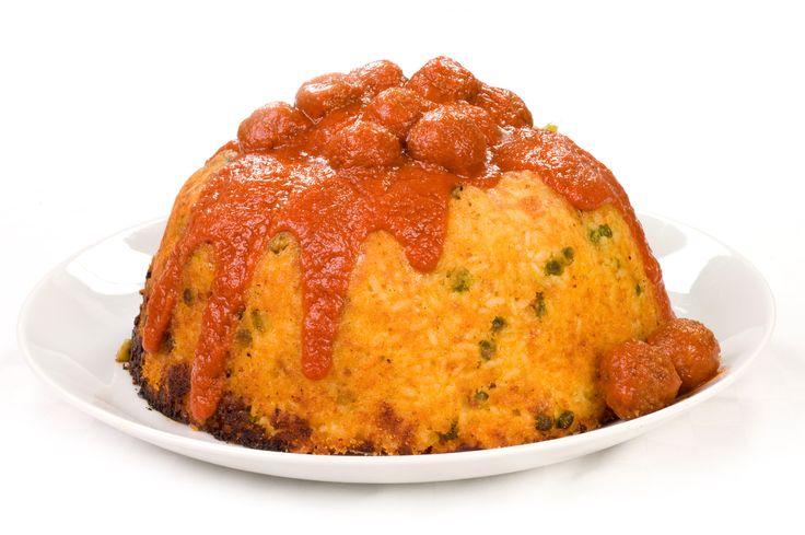 Il sartù di riso è un piatto tradizionale della cucina napoletana, ricco di tanti ingredienti disposti a strati in uno stampo alto circa 15 cm.bimby