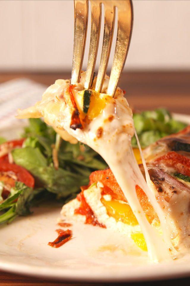 Primavera Stuffed Chicken  - Delish.com