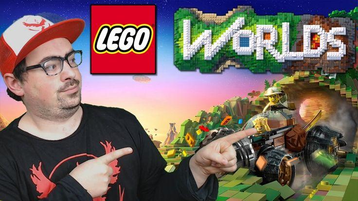 ORA E' MEGLIO DI MINECRAFT !!!   LEGO WORLDS [ITA] GAMEPLAY