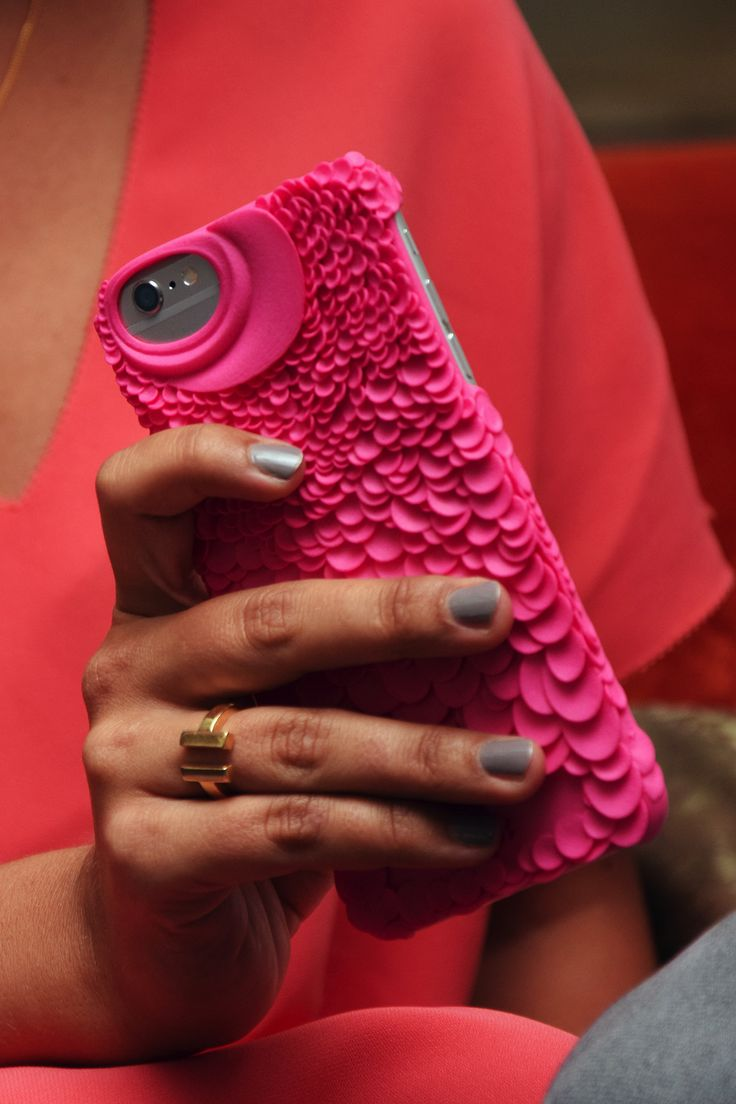 Freshfiber Piranha Case in Pink for iPhone 6s Plus | From Freshfiber.com