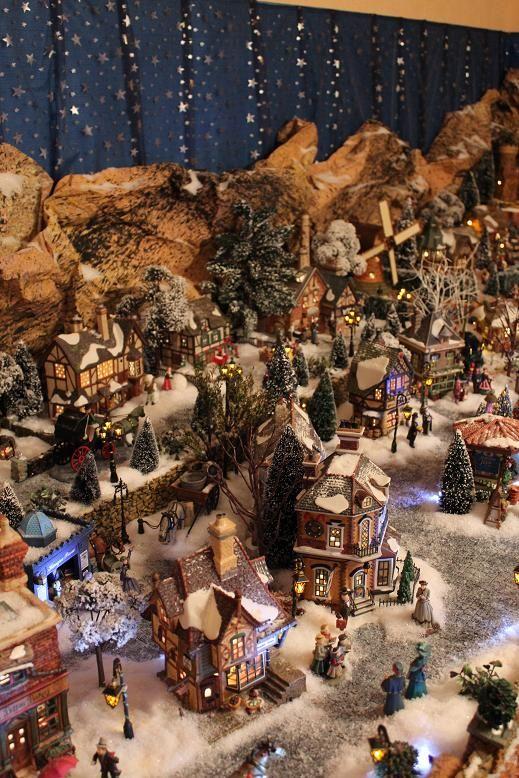 51 best images about village constructing ideas on pinterest - Decor village noel miniature ...