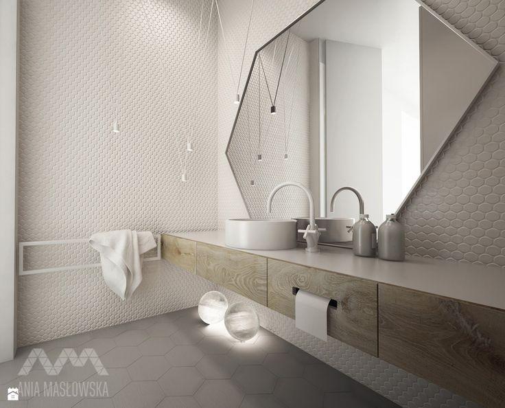 Łazienka styl Minimalistyczny - zdjęcie od Ania Masłowska - Łazienka - Styl Minimalistyczny - Ania Masłowska