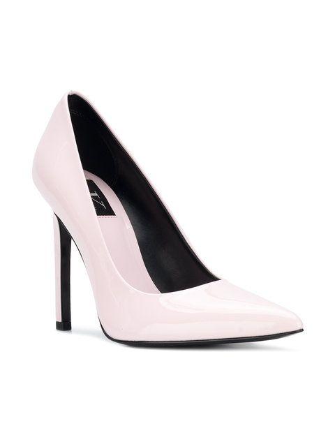 ea118767bfb Calvin Klein Jeans Pointed Toe Stiletto Pumps - Farfetch | Shoes in 2019 |  Pumps, Stiletto pumps, Calvin klein jeans