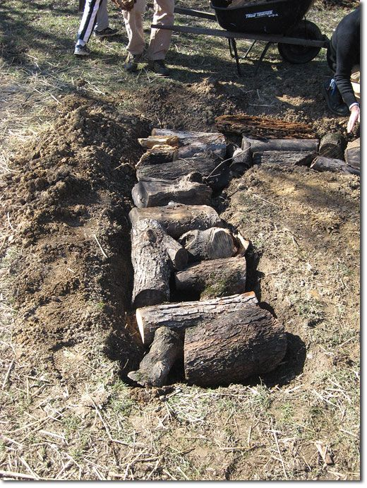 Hugelkultur: Composting Whole Trees With Ease Permaculture Research InstituteEa Permaculture, Permaculture Guild, Gardens, Farms Life, Hugelkultur Demonstrations, Garden Beds, Permaculture Cours, Black Walnut, Knoxvil Permaculture
