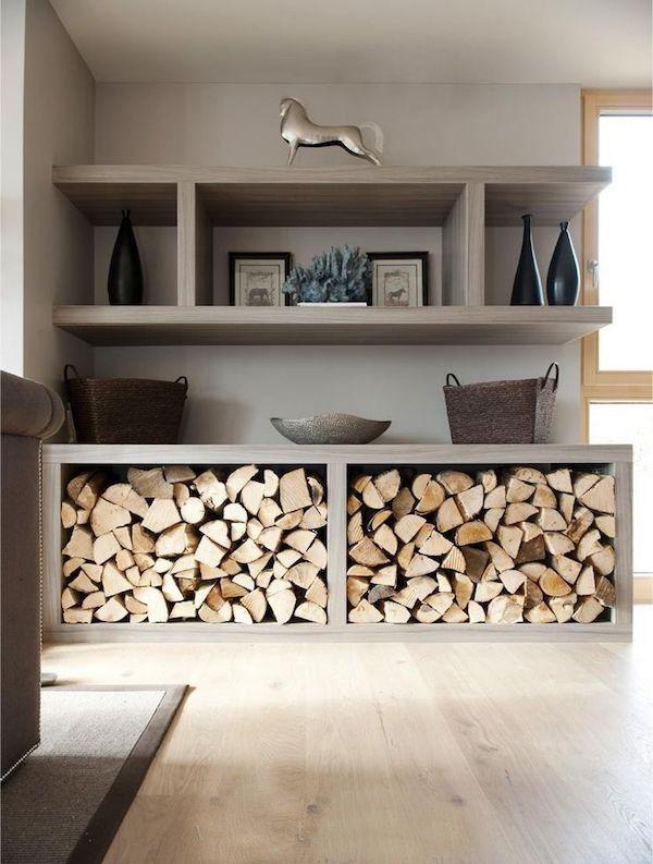 Die besten 25+ Brennholz lagerung Ideen auf Pinterest Holz - grandiose und romantische interieur design ideen