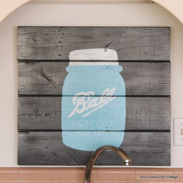 Mason Jar Wall Art 165 best ball: mason jar. images on pinterest | mason jar crafts