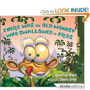 #10: There Was an Old Monkey Who Swallowed a Frog.: Children Songs, Favorit Book, Dr. Who, Frogs, Jungles Themed, Monkey, Jennifer Ward, Children Book, Pictures Book