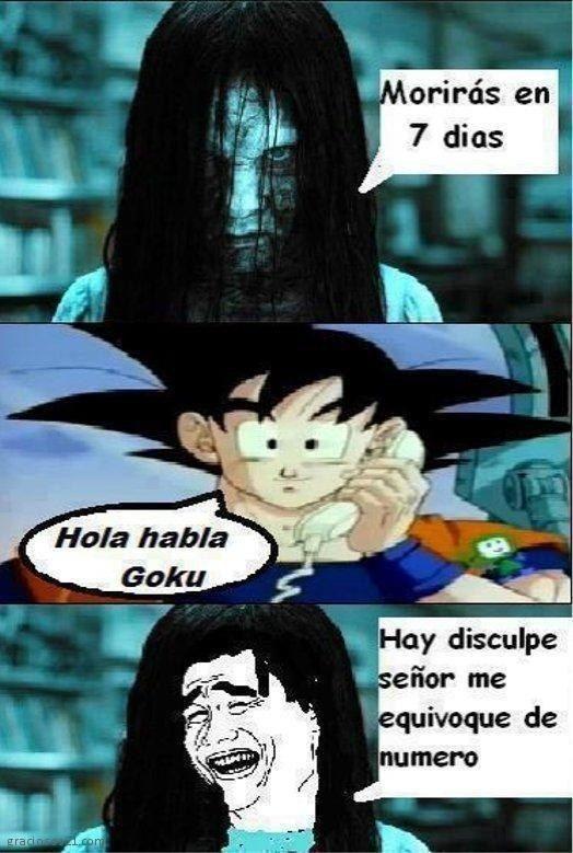 Con Goku no te metas. | 19 Imágenes que matarán de risa a los amantes de Dragon Ball