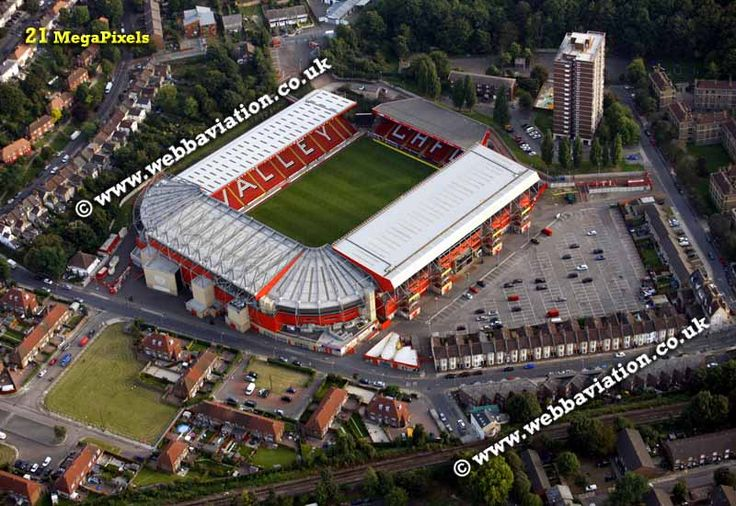 Charlton Athletic from the air