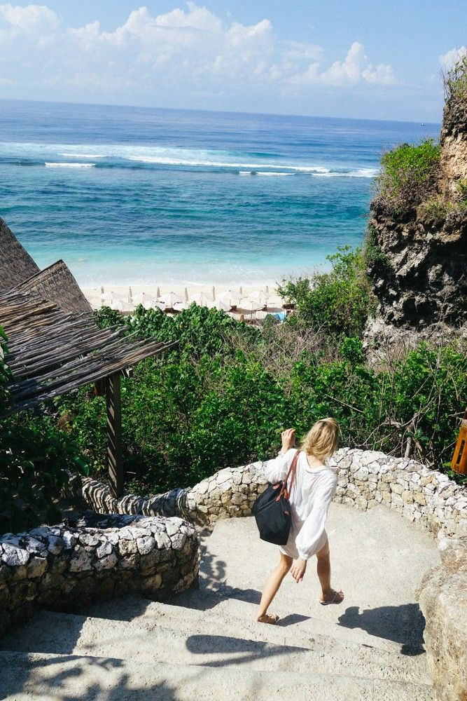Finn's Beach Club is a tiny little place at the very bottom tip of Bali.