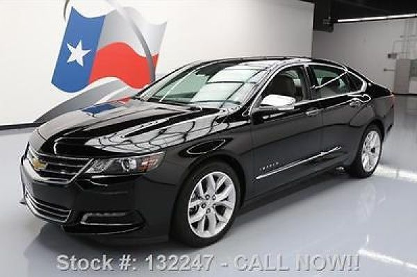 "Chevrolet: Impala LTZ 2LZ HTD LEATHER REAR CAM 19""S 2016 chevy impala ltz 2 lz htd leather rear cam 19 s 12 k 132247 texas direct"