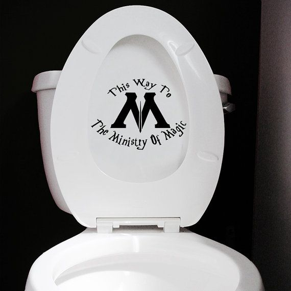 Seems an odd way to get there, but your bathroom can now be used to get to the enigmatic Ministry Of Magic! Dont forget to take your