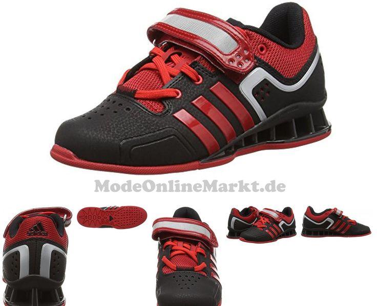 5053810261180 | #adidas #Adipower, #Unisex #Erwachsene #Hallenschuhe #, #Schwarz  #8211; #Black #(Black/Litht #Scarlet)  #8211; #Größe: #48 #EU