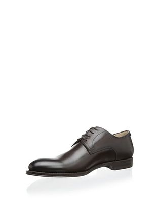 Antonio Maurizi Men's 5422 Burnished Plain Toe Lace Up (T.moro)